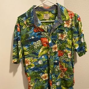 Vans Hawaiian shirt